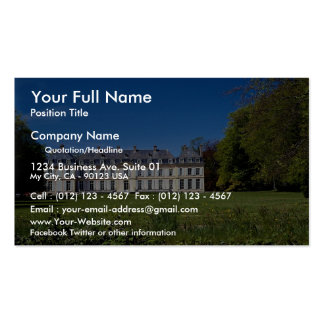 Large mansion in rural Norway Double-Sided Standard Business Cards (Pack Of 100)