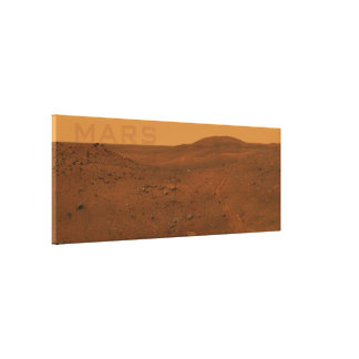 Large Mars Canvas Gallery Wrap Canvas