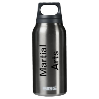 Large Martial Arts Insulated Water Bottle