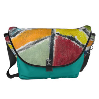Large Messenger Bag by Happy Colors