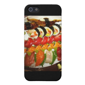 Large Mixed Sushi Plate Gifts Mugs & Collectibles iPhone SE/5/5s Cover