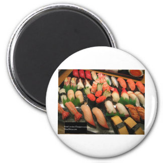 Large Mixed Sushi Plate Gifts Mugs & Collectibles Refrigerator Magnet
