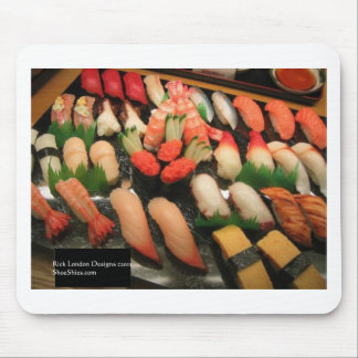 Large Mixed Sushi Plate Gifts Mugs & Collectibles Mousepad