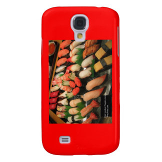 Large Mixed Sushi Plate Gifts Mugs & Collectibles Samsung Galaxy S4 Cover