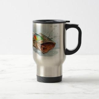 Large Mouth 15 Oz Stainless Steel Travel Mug