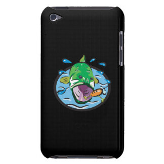 Large Mouth Bass 2 iPod Case-Mate Cases
