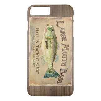 Large Mouth Bass Bait n Tackle Lake Decor iPhone 7 Plus Case