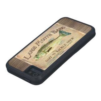 Large Mouth Bass Bait n Tackle Lake Decor iPhone SE/5/5s Case