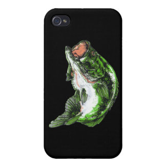 Large mouth Bass Case For iPhone 4