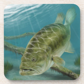Large Mouth Bass Coaster