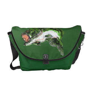 Large mouth Bass Courier Bag