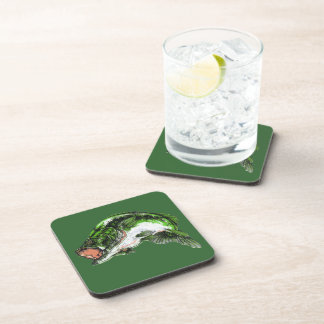 Large mouth Bass Drink Coaster