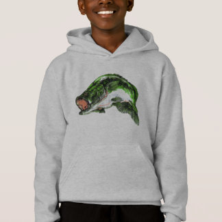 Large mouth Bass Hoodie