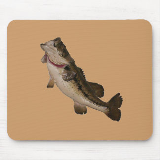 Large Mouth  Bass Mouse Pad