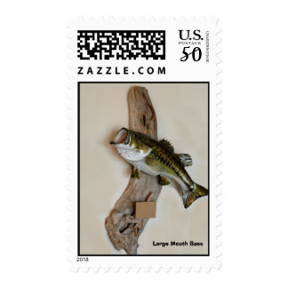 Large Mouth Bass Postage