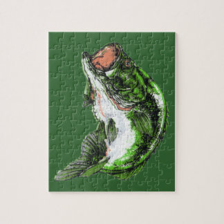 Large mouth Bass Jigsaw Puzzle