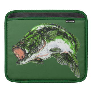 Large mouth Bass Sleeve For iPads
