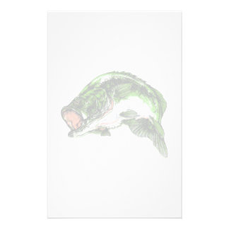 Large mouth Bass Stationery