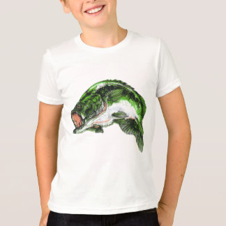 Large mouth Bass T-Shirt