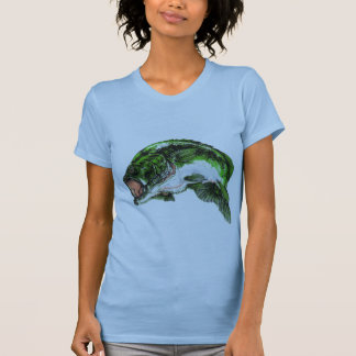 Large mouth Bass Tee Shirt
