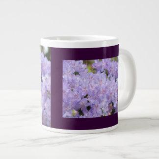 Large Mugs custom Lavender Rhodies Flowers