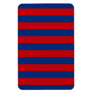 Large Nautical Theme Horizontal Stripes Magnet