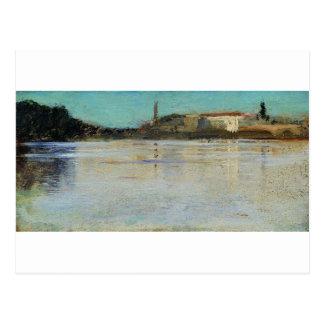 Large Nevka by Ivan Shishkin Postcard