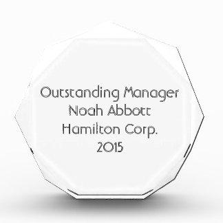 Large Octagon Award