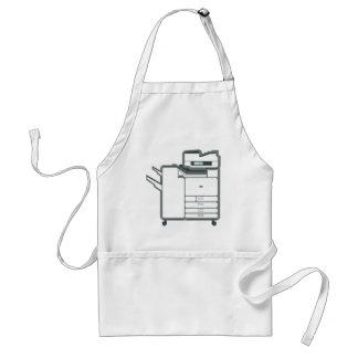Large office printer adult apron