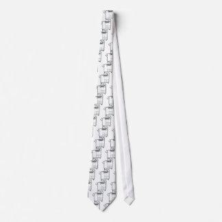 Large office printer neck tie