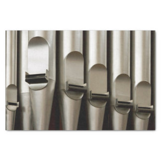 "Large organ pipes tissue paper 10"" x 15"" tissue paper"