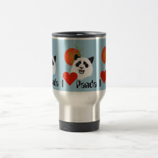 Large panda (Ailuropoda melanoleuca) cup