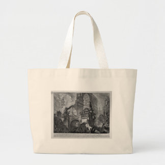 Large part of the magnificent doorway by Giovanni Large Tote Bag