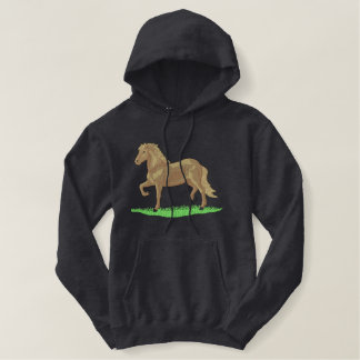 Large Paso Fino Embroidered Hoodie