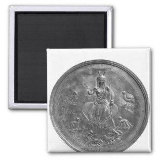 Large patera depicting a goddess magnet