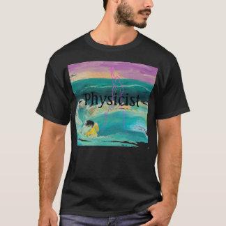 Large Physics Physicist Tshirt by CricketDiane