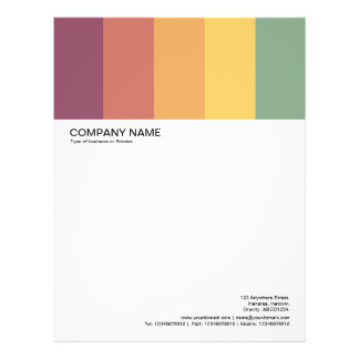 Large Picture Header - Colorbars 03 Letterhead