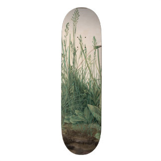 Large Piece of Turf by Albrecht Durer Skateboard Deck