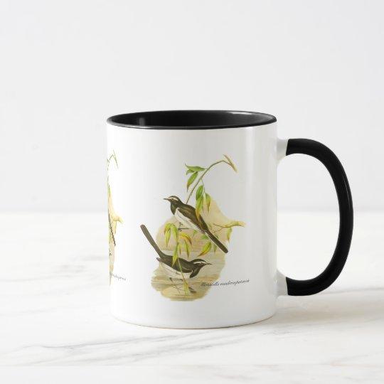 Large Pied Wagtail Mug