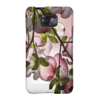 Large Pink Dogwood Flowers Galaxy S2 Cover