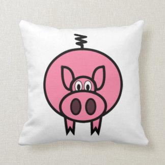 Large Pink Pig Pillow