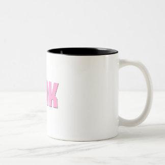 Large Pink Tink Mug