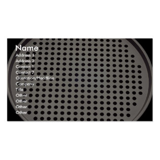 Large pizza pan Double-Sided standard business cards (Pack of 100)