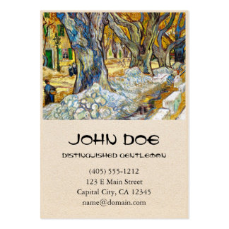 Large Plane Trees by Vincent Van Gogh Large Business Cards (Pack Of 100)