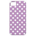 Large Polka Dot Purple iPhone 5 Case