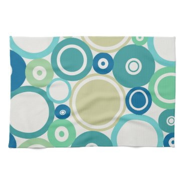 Beach Themed Large Polka Dots Beach theme Kitchen Towel