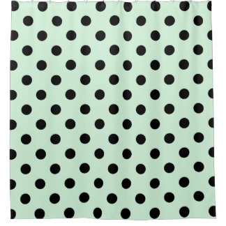 Pastel Polka Dots Shower Curtains | Zazzle
