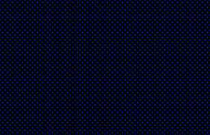 large polka dots imperial blue on black fabric