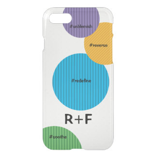 Large Polka Dots with R+F Colors iPhone 8/7 Case