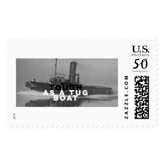 Large Postage Stamps Tough As A Tugboat